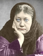 HP Blavatsky in London, 1889